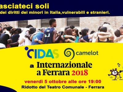 Camelot e CIDAS al Festival di Internazionale a Ferrara
