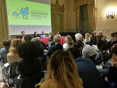 Con Camelot e CIDAS si parla di minori al Festival di Internazionale a Ferrara
