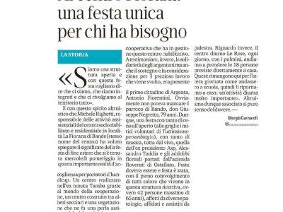 """La Nuova Ferrara parla di """"Parco La Fiorana"""""""