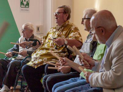 Il laboratorio di musicoterapia per il Parkinson  si conclude con un'esibizione aperta al pubblico