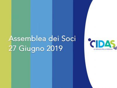 27/06: Assemblea delle Socie e dei Soci di CIDAS