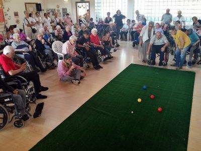Una Festa con gli anziani della Casa Residenza  di CIDAS a Vigarano Mainarda