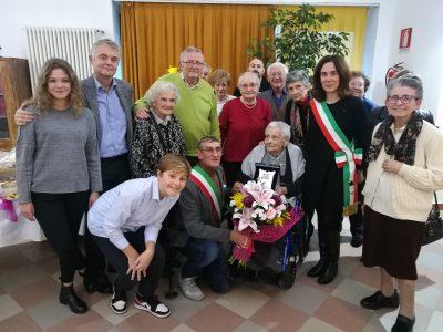 100 candeline per Lucia, ospite di CIDAS