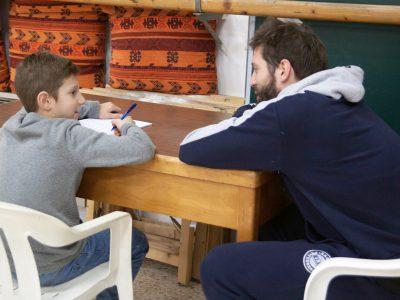 Il sogno di incontrare il playmaker Panni si realizza  grazie ad un laboratorio educativo di CIDAS