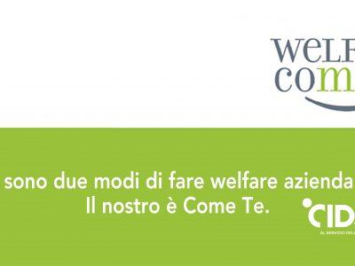 CIDAS presenta Welfare Come Te