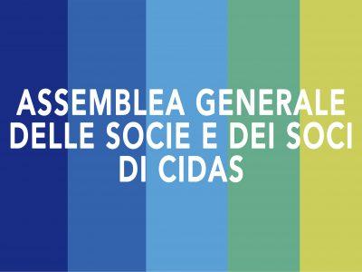 Assemblea dei Soci di CIDAS martedì 28 luglio 2020