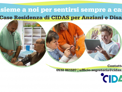 Case Residenze CIDAS per Anziani e Disabili