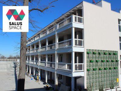 Inaugurato il progetto Salus Space di Bologna