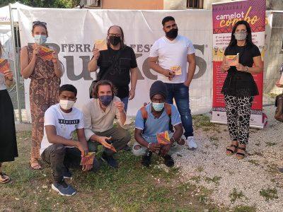 Al Ferrara Buskers Festival CIDAS presenta l'album dei Camelot Combo, percussionisti rifugiati